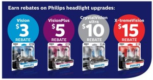 Philips Headlamp Bulb Rebate